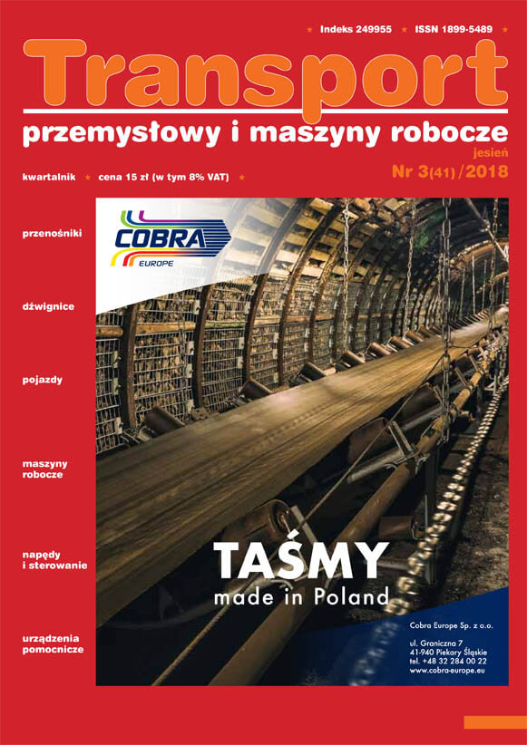 okładka gazeta transport